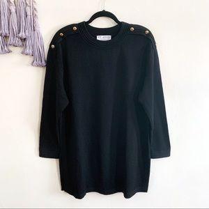 St. John • Santana knit tunic sweater dress size m